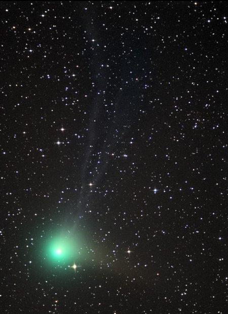 Комета Machholz приближается к Солнцу